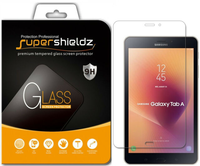 3-PACK 2018 ZenTech Clear Screen Protector Cover For Samsung Galaxy Tab A 8/""