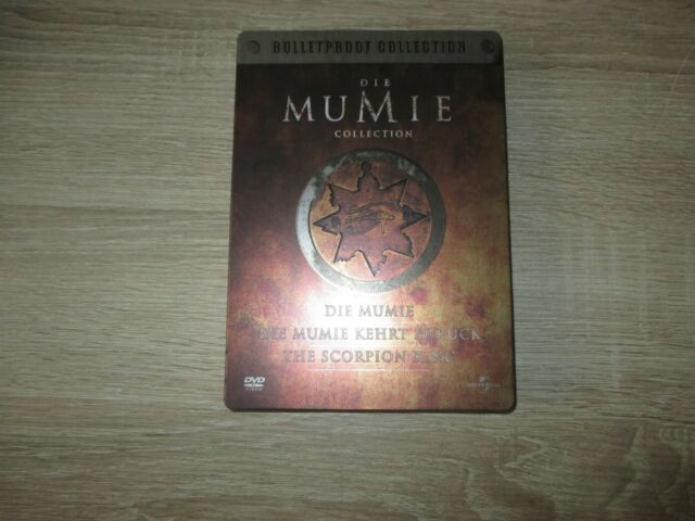 Die Mumie Collection - Bulletproof Collection 3 DVD Box Die Mumie + Kehrt Zurück