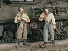 Verlinden 1/35 2255 US Panzermänner beim Beladen mit Munition