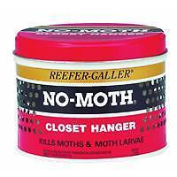 No-Moth Closet Hanger & Odor Remover 1002 6pk