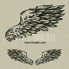 Temporary Tattoo - Wings - Large size