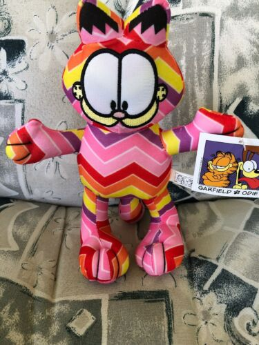 "You choose. Various Patterns 9"" Unique Design Garfield Licensed Plush NWT"