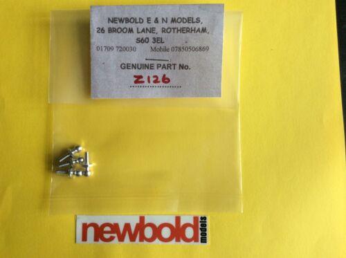 aluminium 4 pieces HPI Z126 Balle Fin 4-40