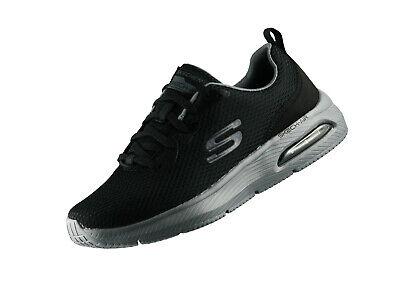 Skechers Dyna Air Fitnessschuhe Herren schwarz grau im