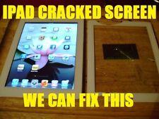 Ipad Mini Damaged Cracked Screen Replacement Repair Service Black White