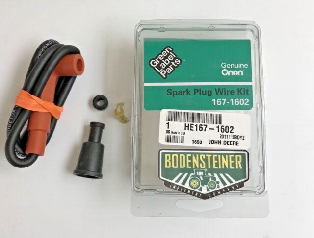 john deere spark plug wire kit he167 1602 onan ebay rh ebay com