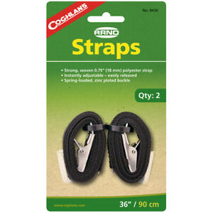Coghlan-039-s-36-034-Arno-Straps-2-Count-Woven-Polyester-Camping-Hiking-Survival