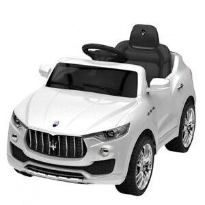 Commande de radio hors route électrique pour enfants de voiture électrique Maserati Levante 12v