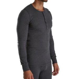 2xist-Essential-Long-Sleeve-Henley-Gray-XL-100-Cotton-bd6