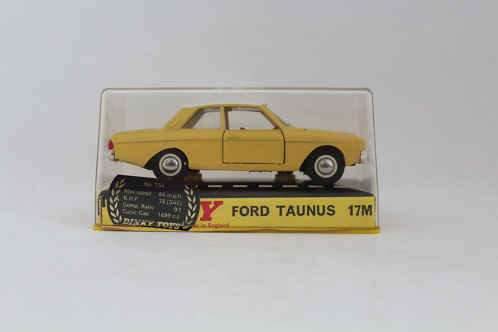 DINKY TOYS 154 FORD TAUNUS 17M 17 M - MADE IN ENGLAND - MECCANO - NIB[OR3-015]