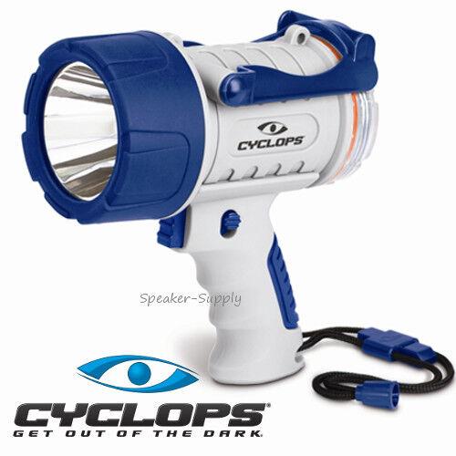 Cyclops 300 Lumens Marine Handheld  LED Spotlight Waterproof Floating 300WP-MAR  choose your favorite