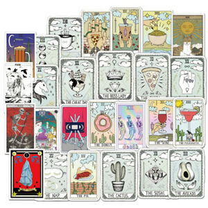 50PCS-Tarot-Skateboard-Stickers-Bomb-Vinyle-Portable-bagages-decals-Dope-Sticker
