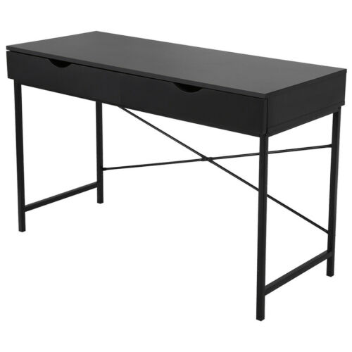 Details about  /Computer Desk PC Laptop Table Study Workstation W// Drawers Home Office Furniture