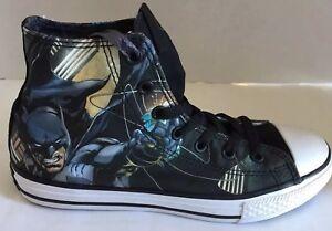 Kids Mid Cut Batman Sneakers Size