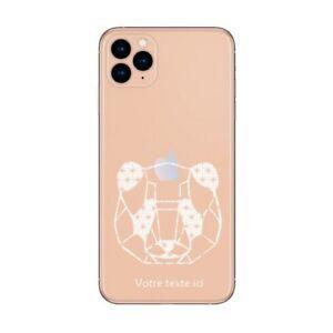 Coque Iphone 12 PRO MAX panda geo personnalisee
