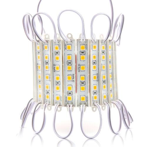 5054 SMD Waterproof LED Strip String Light 6 LED Module Lamp AD Decor DC 12V Kit