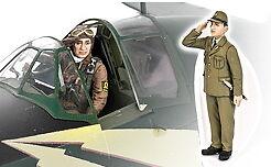 1 Pilot+1 Base Commander Zoukei-Mura 1//32 Mitsubishi J2M3 Raiden Sortie Set