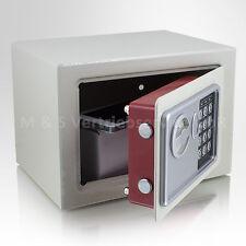 Mini Tresor Zahlenschloss elektronisch Minisafe Wandtresor Wandsafe Grau Safe