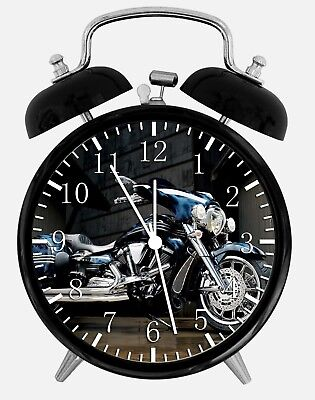 "Ambitieus Yamaha Motorcycle Alarm Desk Clock 3.75"" Home Or Office Decor W187 Nice For Gift"