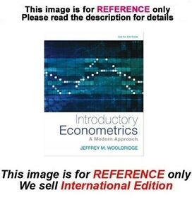 WOOLDRIDGE ECONOMETRICS EBOOK DOWNLOAD