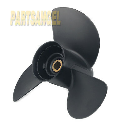 Aluminum Propeller For Johnson Evinrude 45 to140 HP Solas 2411-133-17 13-1//4x17