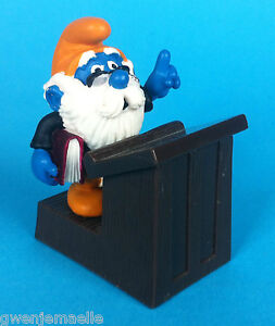 SCHTROUMPF-PROFESSEUR-40260-NEUF-GERMANY-CE-SMURF-SCHLEICH-PITUFO-PUFFI