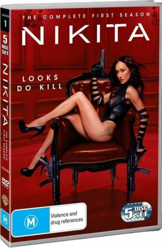1 of 1 - *Brand New & Sealed* Nikita : Season 1 of the TV series (DVD, 2011, 5-Disc Set)