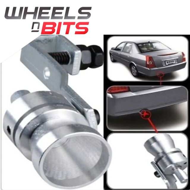 Tail Exhaust Pipe Whistler Wizzer Turbo Sound Dump Valve Noise Racing  Sports Tip