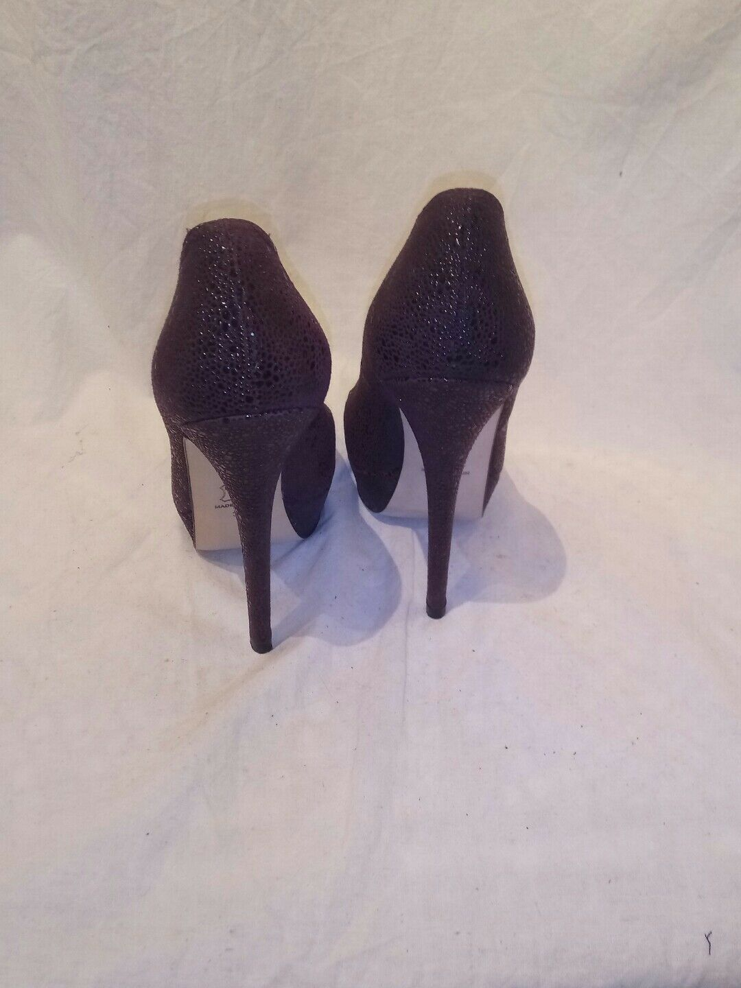 All purple saint spitalfields ladies deep purple All platform heels uk 5 worn once ref 10 7d8536