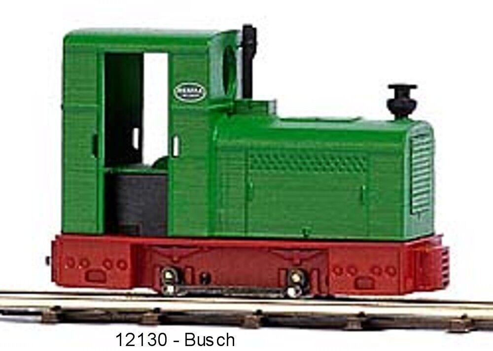 Busch Ferrovia 12130 Locomotiva Diesel  Deutz Omz 122 F     Nuovo Scatola
