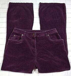 Woolrich-Womens-Size-8-Boot-Cut-Plum-Colored-Corduroy-Jeans-Petite-5-Pocket