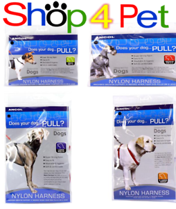 Dog-Puppy-Harness-ANCOL-Nylon-FOR-YOUR-PET-SMALL-MEDIUM-LARGE-X-LARGE