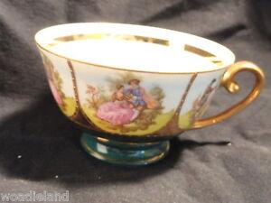 Gernan-Bavarian-Gilt-Trimmed-Tea-Cup