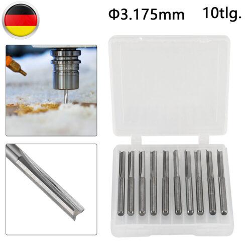 1//2//10//12 Schaft Bündigfräser Kopierfräser Oberfräser Nutfräser Stabfräser Stahl