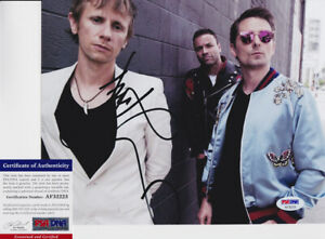 Dominic-Howard-Muse-Drummer-Signed-Autograph-8x10-Photo-PSA-DNA-COA-2