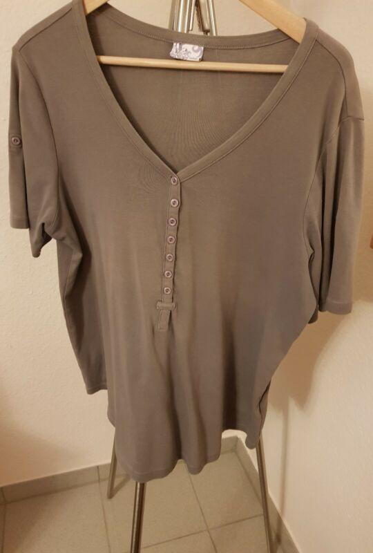 Large Merino Wool Blend Cerise Pink RRP £70 Breidhof V-Neck Jumper BNWT
