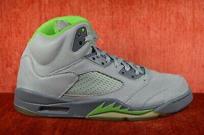 hot sale online f4ed8 f86e1 CLEAN Nike Air Jordan V 5 Retro 2006 Silver Green Bean Size 11 136027-031