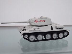 Herpa-745796-Militar-1-87-Tanque-T-34-85-Wintertarnung-034-Lucha-Nuevo