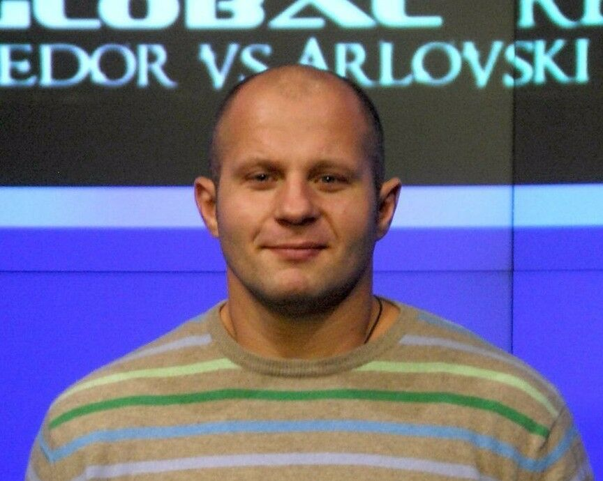 MMA fighter Fedor Emelianenko Glorious Sweater of Absolute Victory