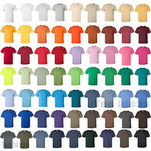 Gildan - Mens Ultra Cotton T-Shirt 100% Cotton Tee S,M,L,XL Many ...