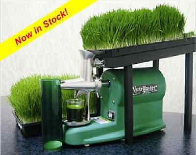 Nutrifaster G160 Commercial Wheatgrass Juicer