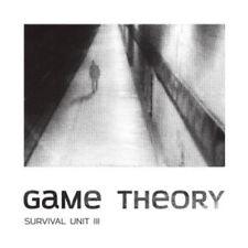 CD SURVIVAL UNIT III Game Theory MCPHEE ZERANG