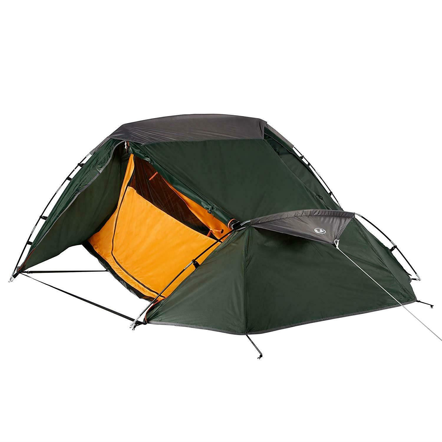 2 Person Hiking Tent Trekking Camping Sports Carry Bag Fishing Festivals UK NEW