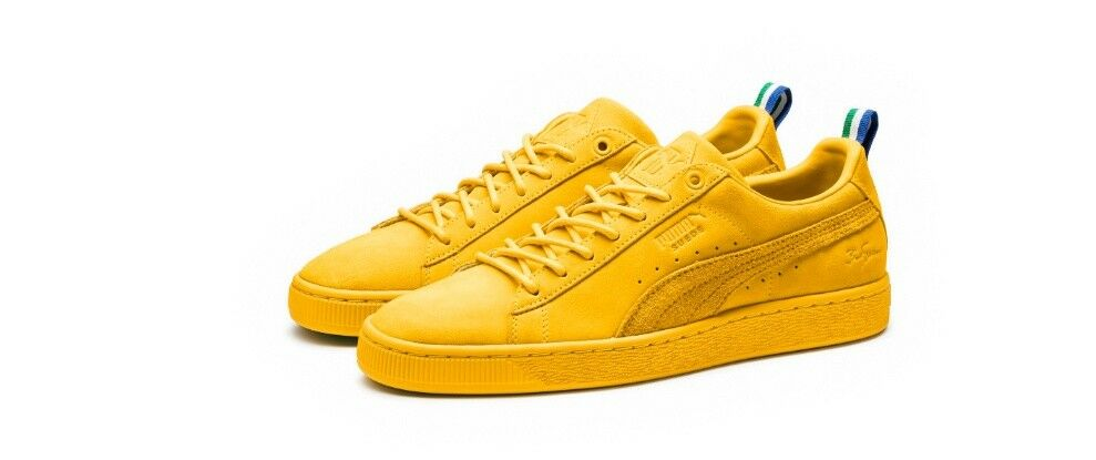 PUMA SUEDE SPECTRA BIG SEAN YELLOW 36741301