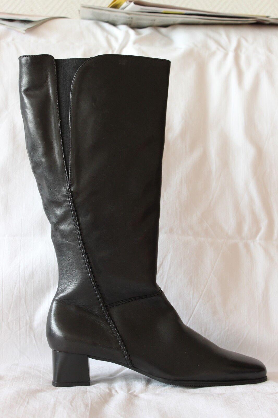 Stifel Gabor Größe 8(42) aus Leder, schwarz