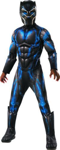 Deluxe Black Panther Battle Boys Child Halloween Superhero Costume