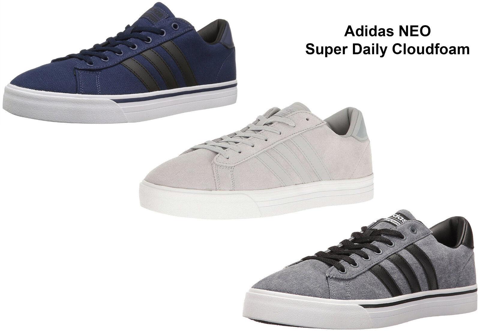 Ανδρικά πάνινα παπούτσια Adidas Neo Cloudfoam ΣούπΡρ καθημΡρινά παπούτσια NEW