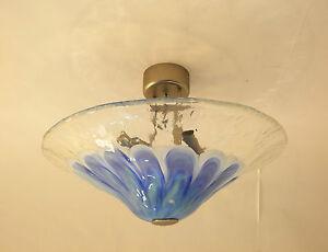 Plafoniere Per Bagno La Murrina : Thaiti r la murrina plafoniera vetro di murano con sfumature blu