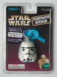 TIGER-STAR-WARS-STORMTROOPER-KEYCHAIN-Released-in-1997-Unopened-from-Japan