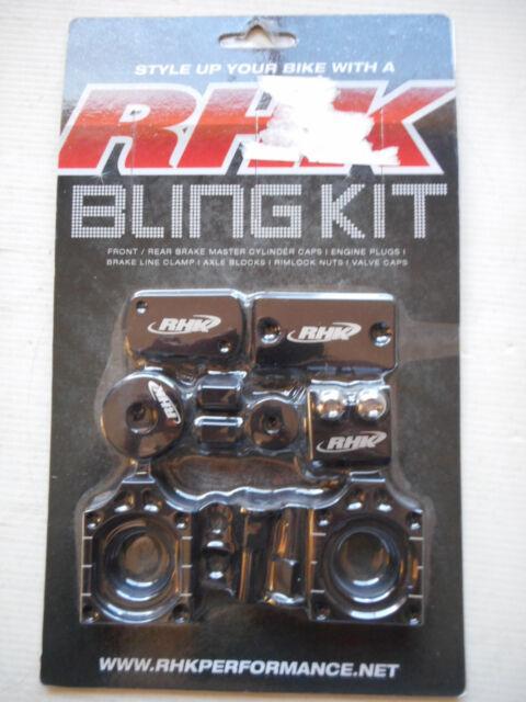 KAWASAKI KXF250 2008-2010 MODELS  RHK BLACK BLING KIT RHK BK-12